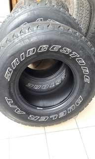 4x4 tayar bridgestone dueler AT 285/75/16