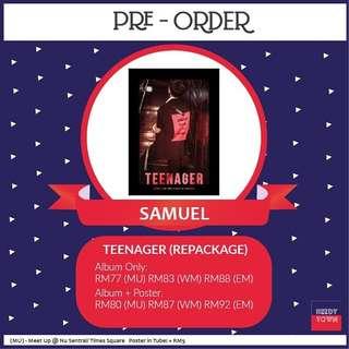 (PRE-ORDER) SAMUEL - TEENAGER (REPACKAGE)