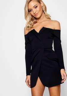 Boohoo Petite Blazer Dress