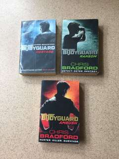 BODYGUARD SERIES- HOSTAGE, RANSOM, AMBUSH by CHRIS BRADFORD