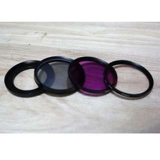 Add on Kits: Set of filters and lens