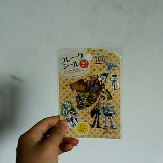 🚚 🚫(全新)迪士尼玩具總動員50枚貼紙