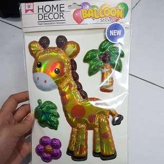 Home Decor ballooon stickers