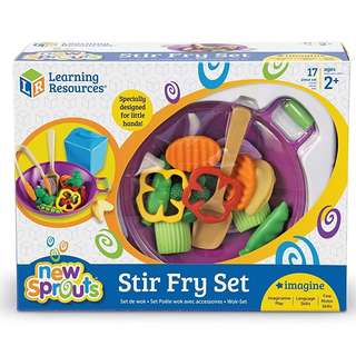 Learning Resources Stir Fry Wok Cooking Toy