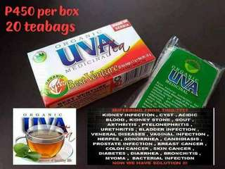 Organic Uva Medicinal Tea can cure within 7 days.