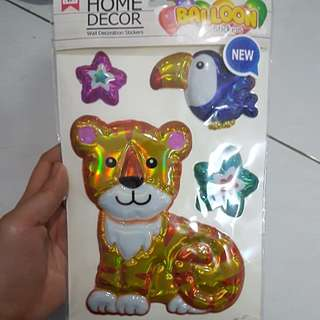 Home Decor balloon stickers