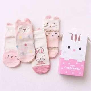 <Instock> Baby Socks Gift Box (4pairs)