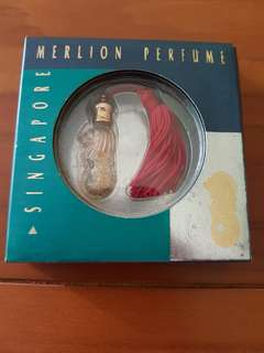 Merlion perfume bottle