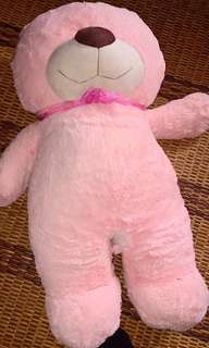 teddy bear -pink