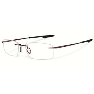 BRAND NEW! Oakley Keel OX3122-0453 Brick 53mm Titanium Rimless $185 +2 PAIRS EXTRA SILICON NOSE PAD FREE