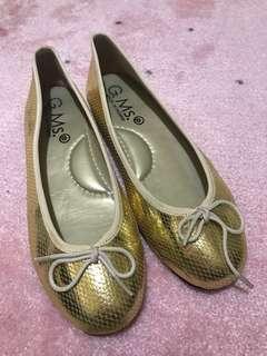 🚚 台灣製金色娃娃鞋24 /38 #一百元好物