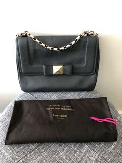 Kate Spade Black clutch crossbody bag