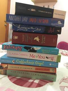 Books Part I (some new, some preloved)