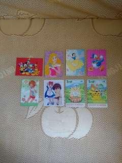 懷舊閃卡 迪士尼卡 卡通片卡