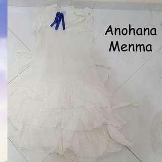 Anohana Menma white dress