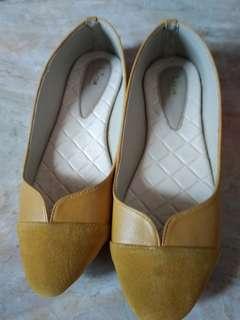 Luino handmade flat shoes size 39