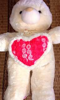 teddy bear warna cream