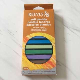 [BNIB] Reeves Soft Pastels (set of 12)