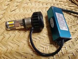 🚚 機車用 LED 大燈燈泡 附Led driver