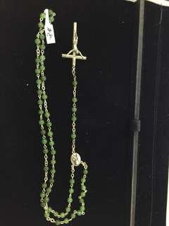 🚚 十字架玉項鍊