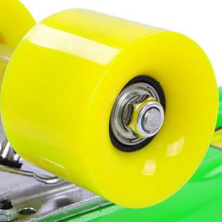 4x Mini Cruiser 59mm Wheels with ABEC7 Bearings (Yellow 78A)