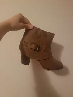 Size 8 Brown Booties