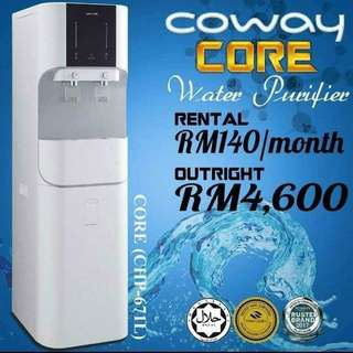 Pure Water From COWAY(Clean 0.00Mic)