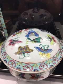 🚚 手繪老瓷碗