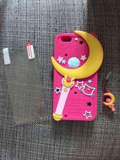 Sailormoon iPhone 6 電話殼 掛飾 加保護貼