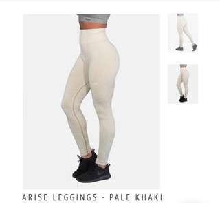 Echt arise leggings pale khaki