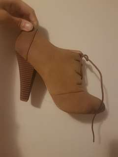 Call It Spring Brown Shoes (size 8)
