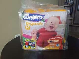 Drypers - Drypantz Size M 60pcs × 2 Packs