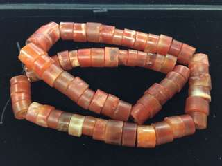 🚚 西亞 老紅瑪瑙 貿易珠