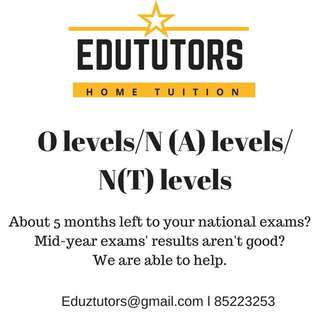 LOOKING FOR TUTOR?
