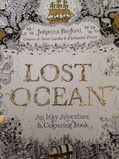 """Lost Ocean"" coloring book"
