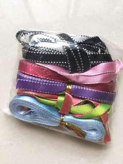 Pack of 5 ribbons