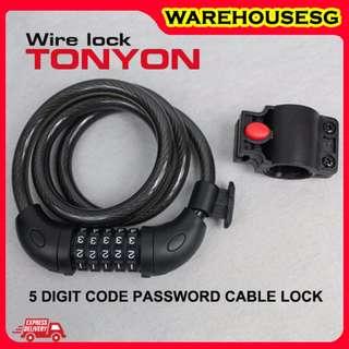 Tonyon Password Lock/Safety Lock