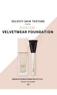 [NEW!] Clio Nudism Velvetwear Foundation (with brush!)