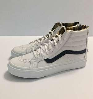 Vans Leather Sk8-Hi Slim