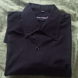 #mausupreme kemeja hitam