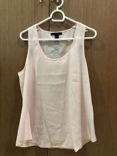 Forever 21 Pastel Pink Top