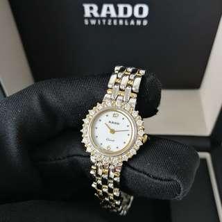 Authentic Rado Rhinestone Watch