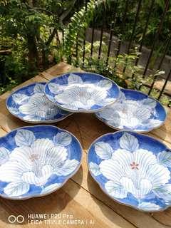 Japan floral plate