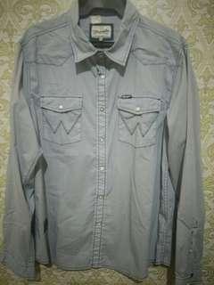 Wrangler Long Sleeves Polo (Slim Fit)