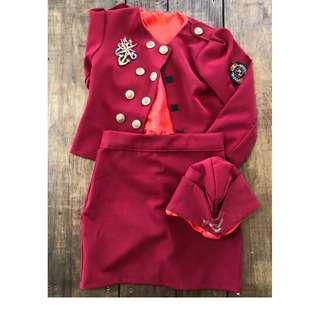 Stewardess Costume Kids