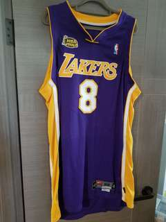 Nike No.8 Kobe Bryant pro cut with finals patch size 52