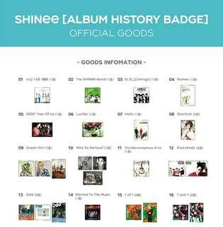 SHINee album badge (jonghyun)