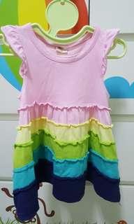 女嬰 無袖洋裝 連身裙 70-80cm