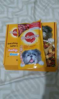 Pedigree dog food FREE