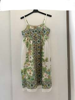 (Made in Japan) 全新Oops日牌沙灘吊帶連身裙  (beach resort dress one piece ops)